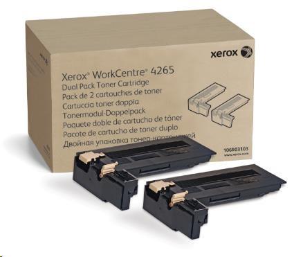 Xerox DMO Sold Dual Pack Toner Cartridge 50K (Two 25K cartridges) pro WorkCentre 4265 (106R03103)
