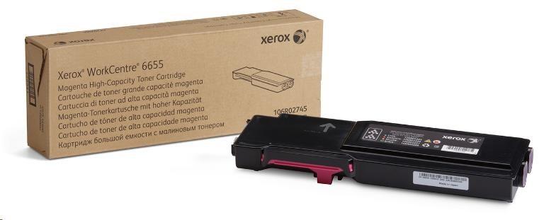 Xerox toner pro WorkCentre 6655 high capacity Magenta cartridge (7500str, magenta) (106R02753)