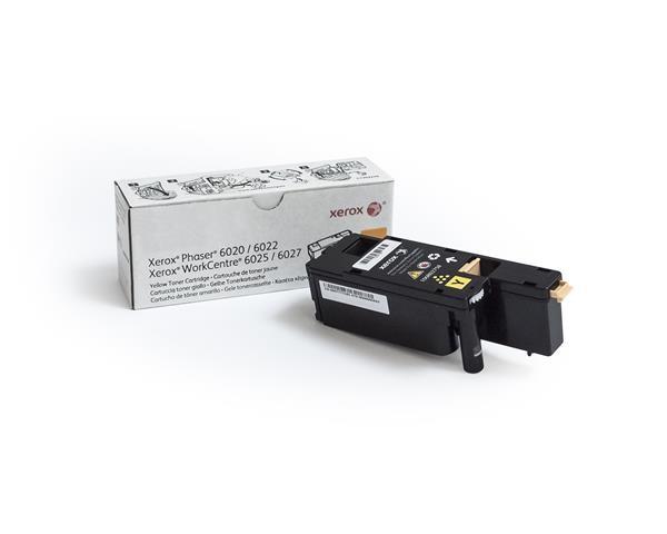 Xerox toner Yellow pro Phaser 6020, 6022, WorkCentre 6025, 6027 (1000 str, yellow) (106R02762)