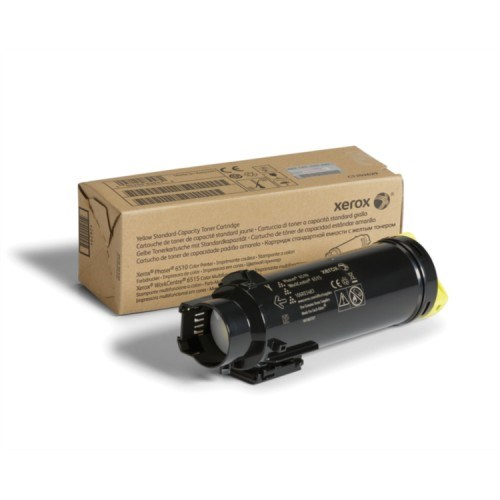 Xerox Yellow Standard toner cartridge pro Phaser 6510 a WorkCentre 6515, (1,000 Pages) DMO (106R03483)