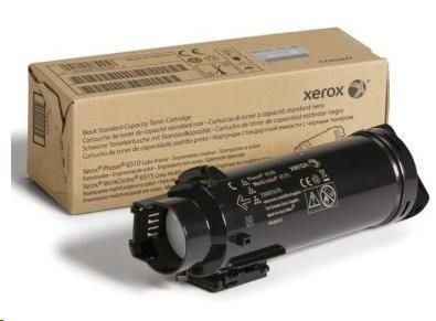 Xerox Black Standard toner cartridge pro Phaser 6510 a WorkCentre 6515, (2,400 Pages) DMO (106R03484)