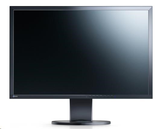 "EIZO MT TN LCD LED 24"" EV2416WFS3-BK 1920x1200, 250cd/m2, 5ms, repro, 1x DVI-D, D/SUB15, 1x 8-bit DP,2xUSB, černý"