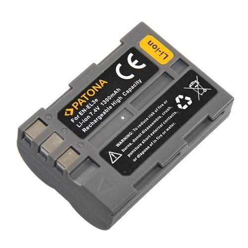 Patona fotobaterie pro Nikon EN-EL3E 1300mAh