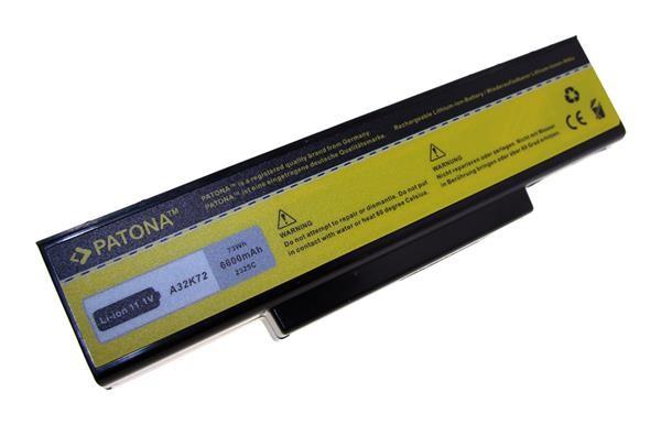 Baterie Patona pro ASUS A32-K72 6600mAh Li-Ion 11,1V (PT2325)