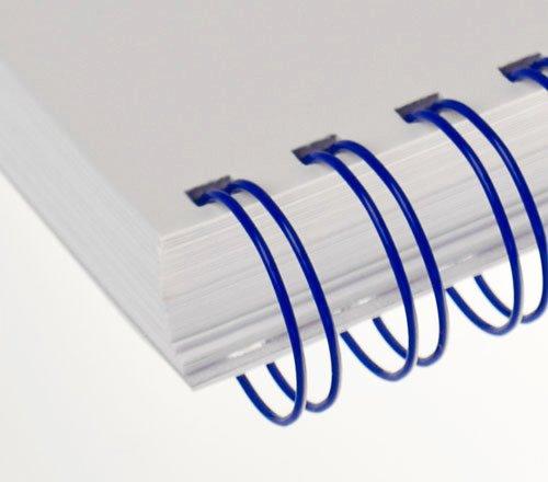 """Kovové hřbety (2/1"""") 8 modré (lamrm23dr08b)"""