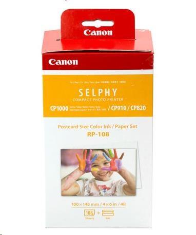 Canon RP-108 papír 100x158mm 108ks do termosublimační tiskárny (8568B001AA)
