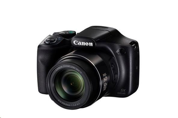Canon PowerShot SX540 HS, 20MPix, 50x zoom - černý (1067C002AA)