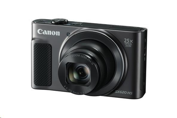 Canon PowerShot SX620 HS, 20.2 Mpix, 25x zoom - černý (1072C002AA)
