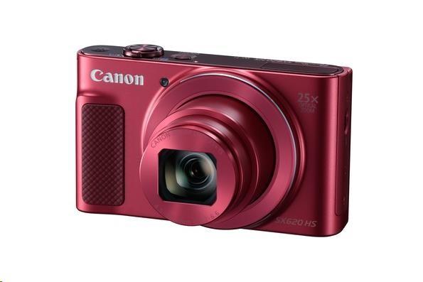Canon PowerShot SX620 HS, 20.2 Mpix, 25x zoom - červený (1073C002AA)