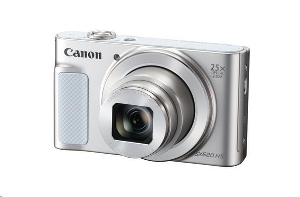 Canon PowerShot SX620 HS, 20.2 Mpix, 25x zoom - bílý (1074C002AA)