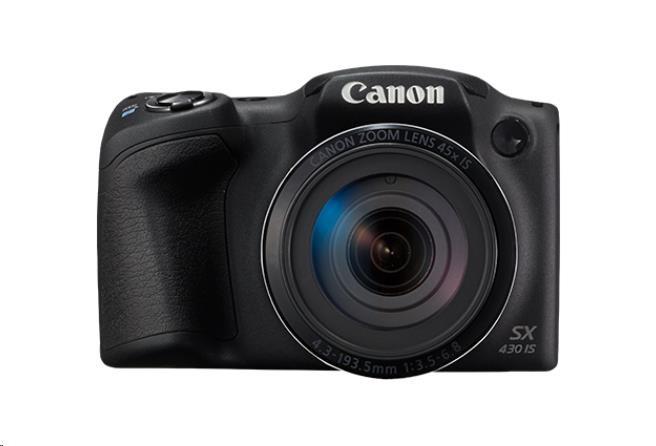 Canon PowerShot SX430 IS, 20MPix, 45x zoom, Wi-Fi, NFC (1790C002AA)