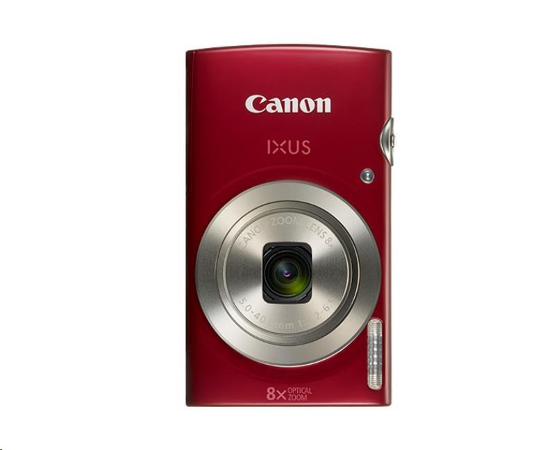 Canon IXUS 185, 20MPix, 8x zoom - červený (1809C001)
