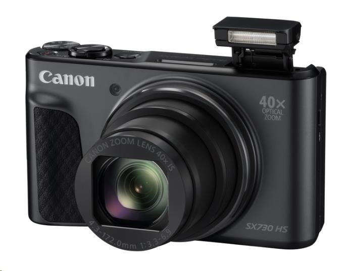 Canon PowerShot SX730 HS, 20.3Mpix, 40x zoom - černý (1791C002AA)