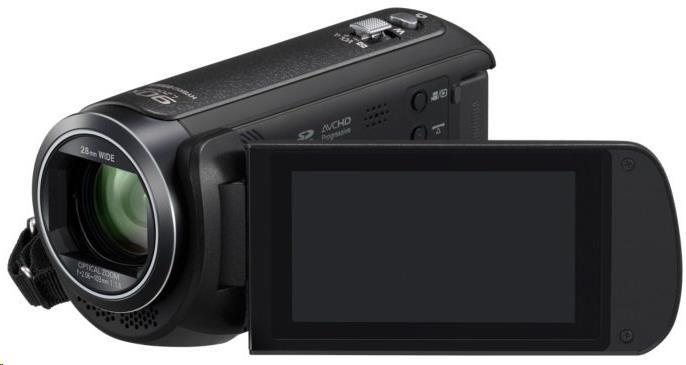 "Panasonic HC-V380 POŠKOZENÝ OBAL (Full HD kamera, 1MOS, 50x zoom od 28mm, 3"" LCD, Wi-Fi)"