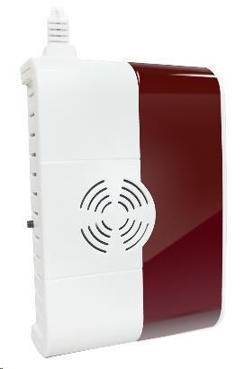 iGET P6 SECURITY Bezdrátový detektor plynu (CO, LNG, CNG, LPG), věstavěná světelná a zvuková signali