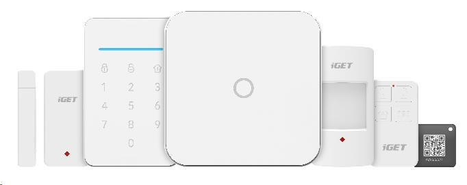 iGET SECURITY M4 - WiFi/GSM zabezpečovací systém alarm