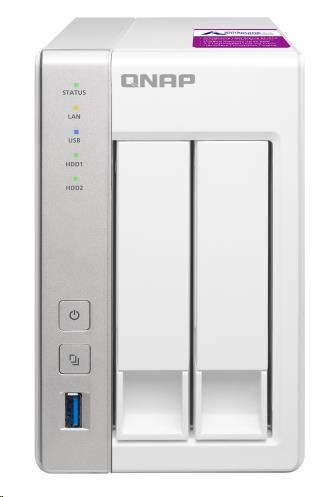 QNAP TS-231P2-4G (1,7GHz/4GBRAM/2xSATA/2xGbE)
