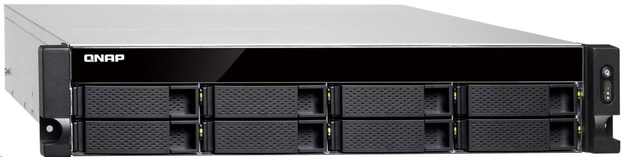 QNAP TS-863XU-RP-4G (2GHz/4GBRAM/8xSATA/1x10GbE/4xGbE/1xPCIe/RP)