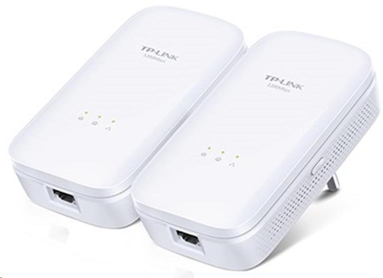 TP-Link Powerline ethernet TP-Link TL-PA8010KIT Starter Kit (2ks) nano adaptér (AV1200 Mbps)