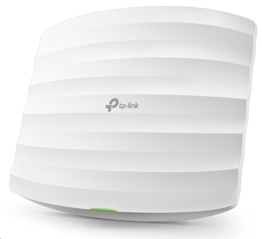 TP-Link Wireless AP, EAP225, AC1350, 867Mbps 5GHz + 300Mbps 2.4Ghz, 802.11ac/a/b/g/n, 1xGLAN, PoE, montáž na strop/zeď