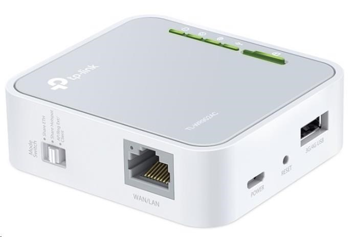 TP-Link TL-WR902AC - AC750 Mini Pocket Wi-Fi Router