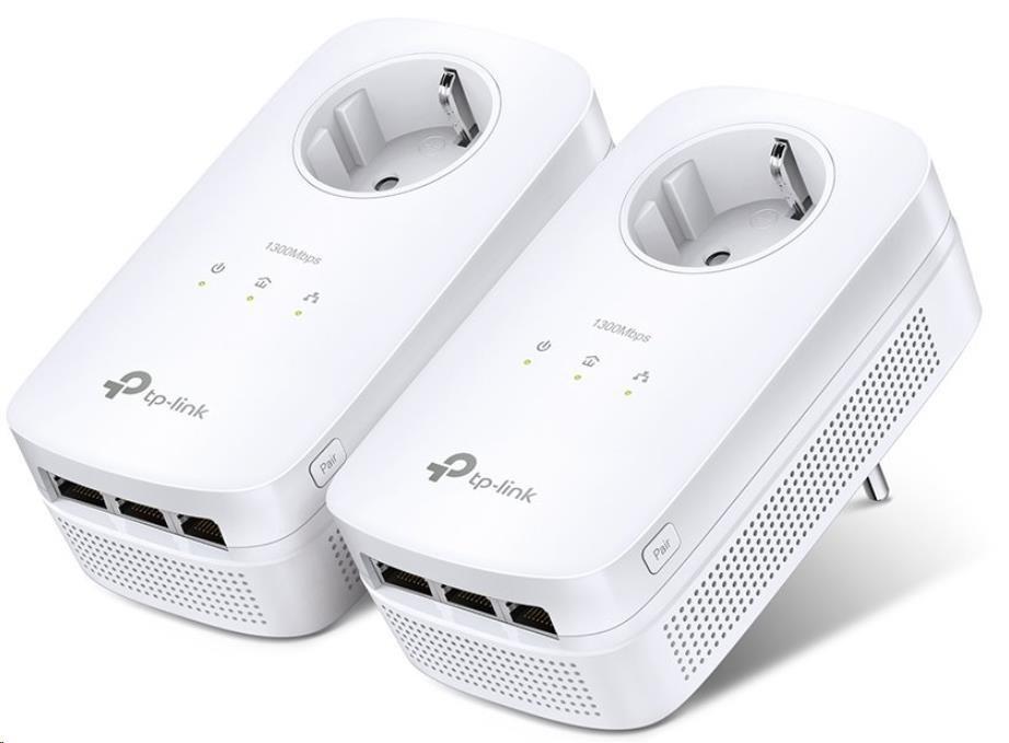 TP-Link TL-PA8030P KIT, Powerline Starter kit se třemi gigabitovými porty (TL-PA8030PKIT)
