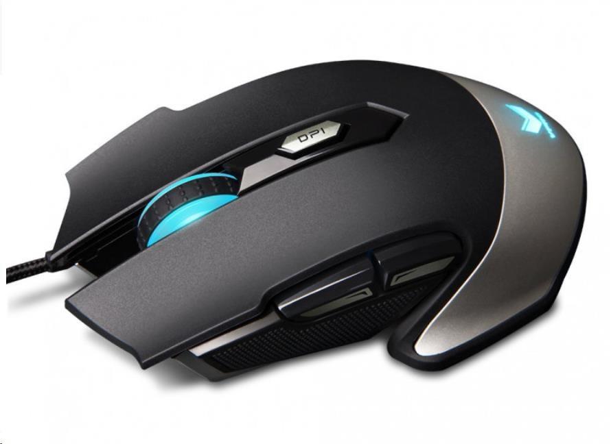 RAPOO myš V310, optická, bezdrátová, gaming, černá (6940056166654)