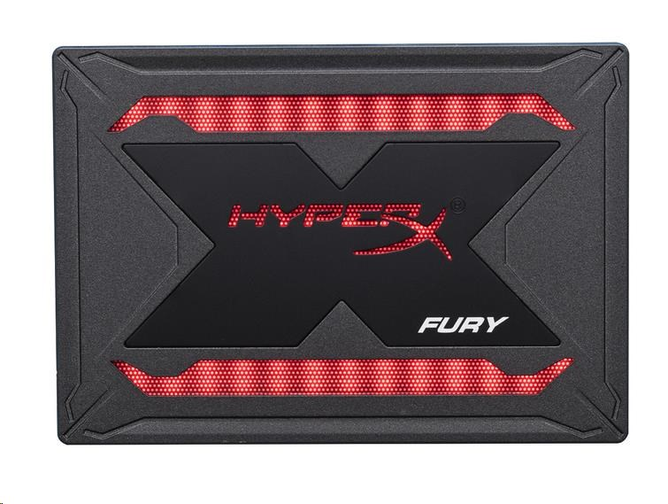 "Kingston 240G SSD HyperX Fury SHFR SATA3 2.5"" RGB Bundle"