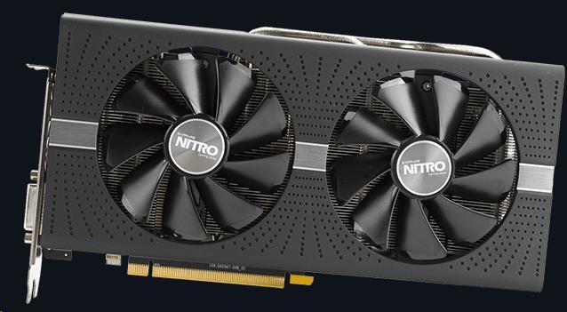 SAPPHIRE VGA AMD Radeon™ NITRO+ RX 580 4GB GDDR5 OC (11265-07-20G)