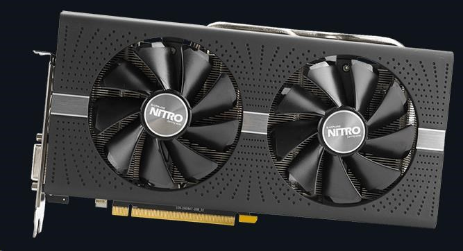 SAPPHIRE VGA AMD Radeon™ NITRO+ RX 570 4GB GDDR5 OC (11266-14-20G)