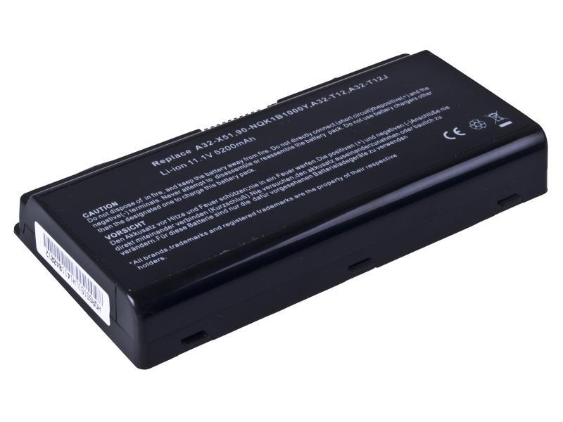 AVACOM baterie pro Asus X51, X58 series A32-X51, A32-T12 Li-Ion 11,1V 5200mAh/58Wh (NOAS-X51-806)
