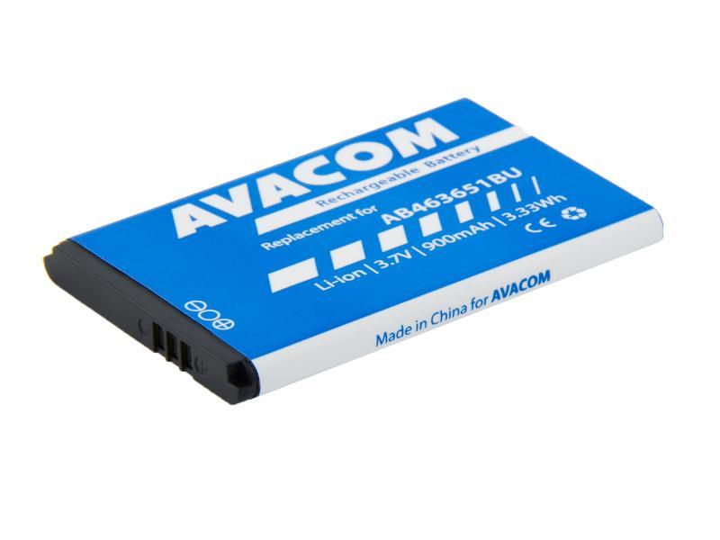 AVACOM baterie do mobilu Samsung B3410 Corby plus Li-Ion 3,7V 900mAh (náhrada AB463651BU) (GSSA-S5610-900)