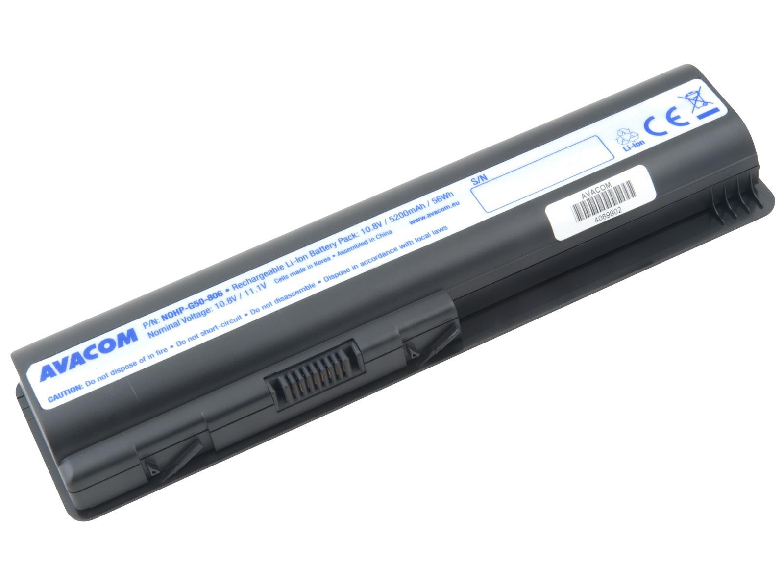 AVACOM baterie pro HP G50, G60, Pavilion DV6, DV5 series Li-Ion 10,8V 5200mAh/ 56Wh (NOHP-G50-806)