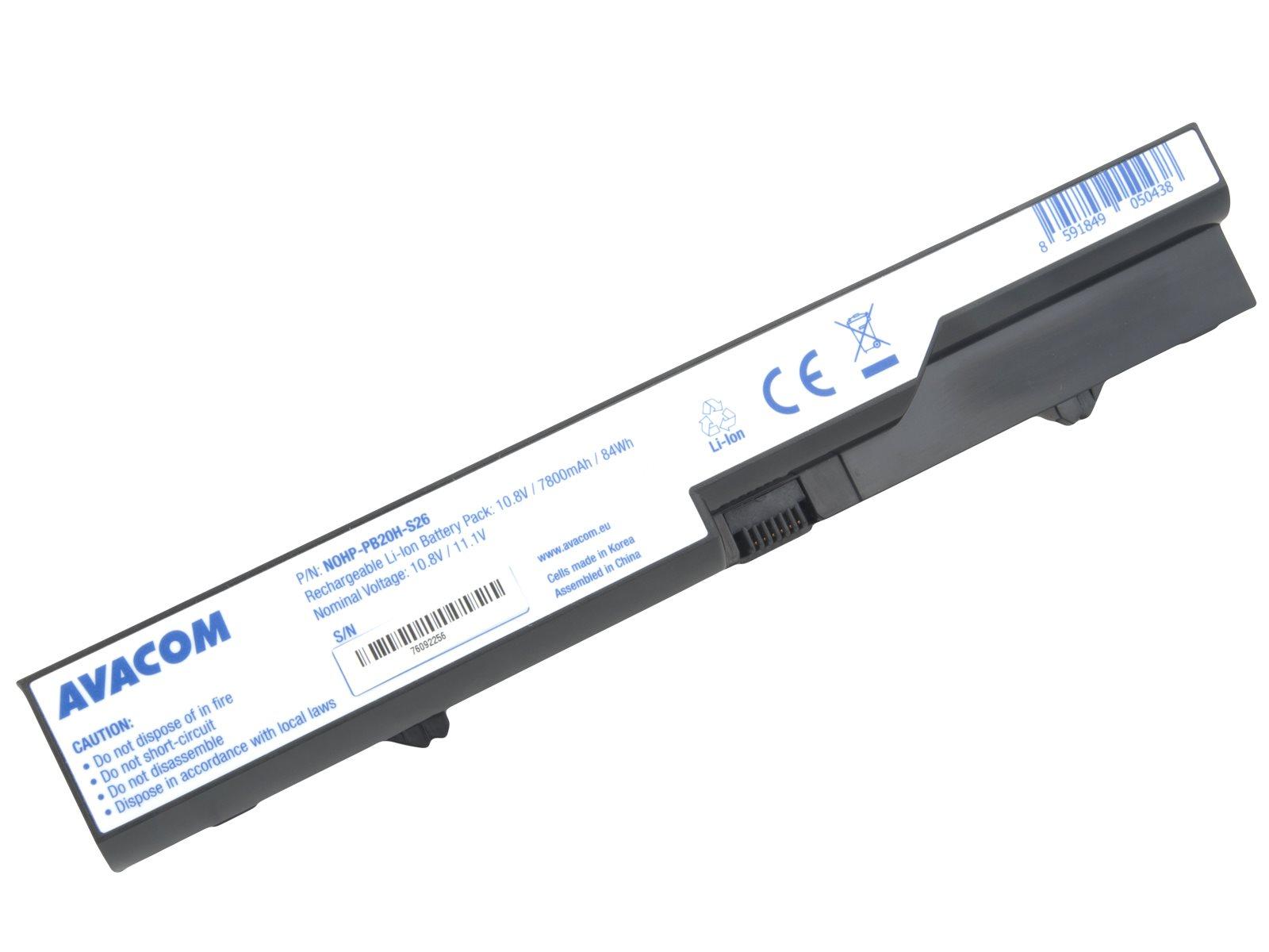 AVACOM baterie pro HP ProBook 4320s/4420s/4520s series Li-Ion 10,8V 7800mAh/84Wh (NOHP-PB20H-S26)