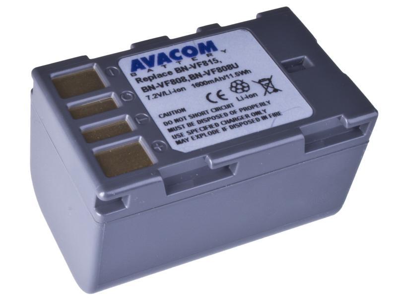 AVACOM JVC BN-VF808, VF815, VF823 Li-Ion 7.2V 1600mAh 11.5Wh (VIJV-815-154)