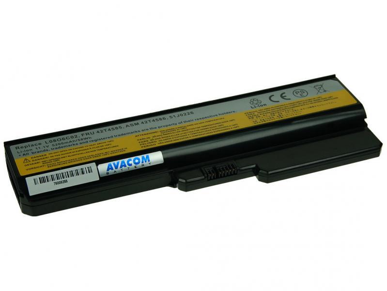 AVACOM baterie pro Lenovo G550, IdeaPad V460 series Li-Ion 11,1V 5200mAh/58Wh (NOLE-G550-806)