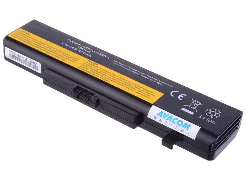 AVACOM baterie pro Lenovo IdeaPad G580, Z380, Y580 series Li-Ion 11,1V 5200mAh/58Wh (NOLE-G58N-S26)