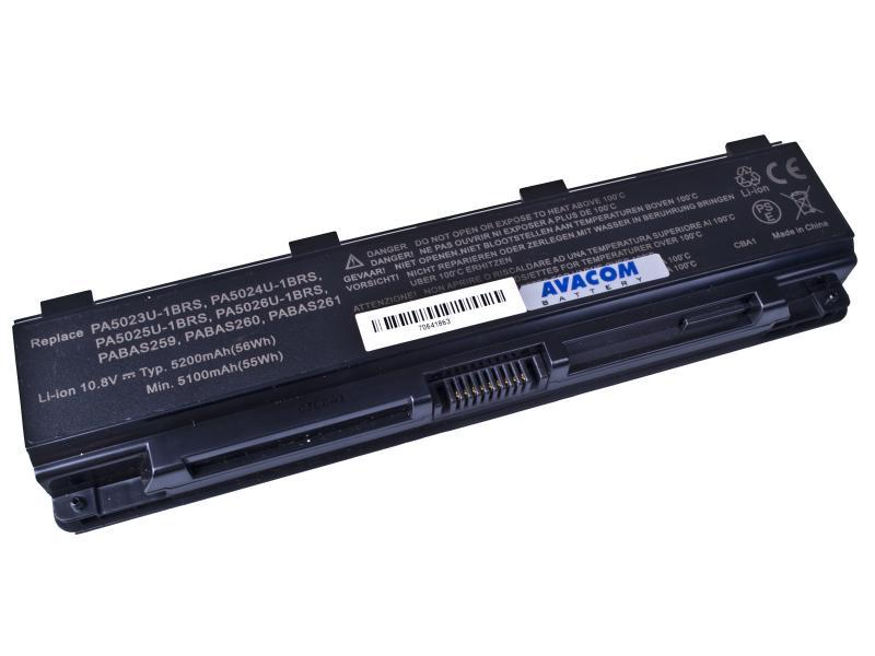 AVACOM baterie pro Toshiba Satellite L850 Li-ion 11,1V 5200mAh/58Wh black (NOTO-L850B-806)
