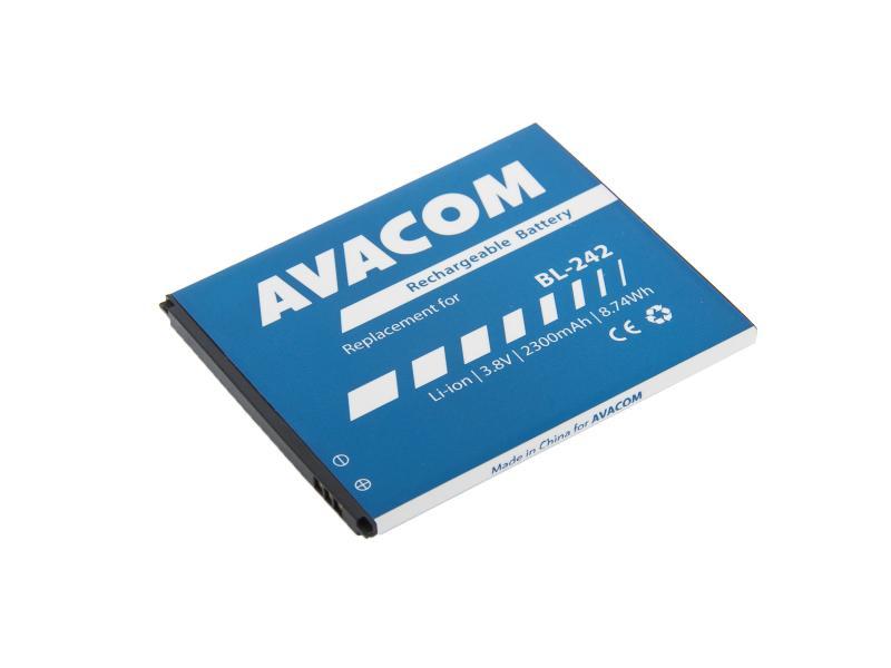 AVACOM baterie do mobilu Lenovo A6000 Li-Ion 3,8V 2300mAh (náhrada BL242) (GSLE-BL242-2300)