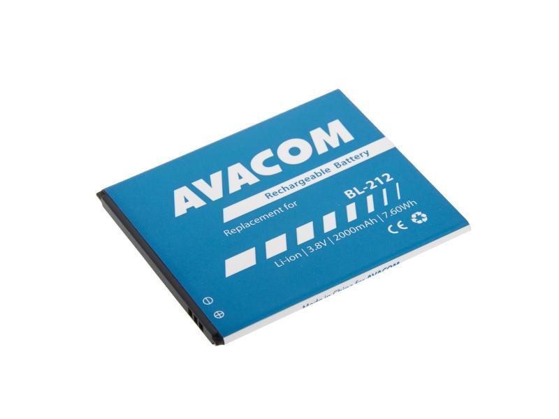 AVACOM baterie do mobilu Lenovo S580 Li-Ion 3,8V 2000mAh (náhrada BL212) (GSLE-BL212-2000)