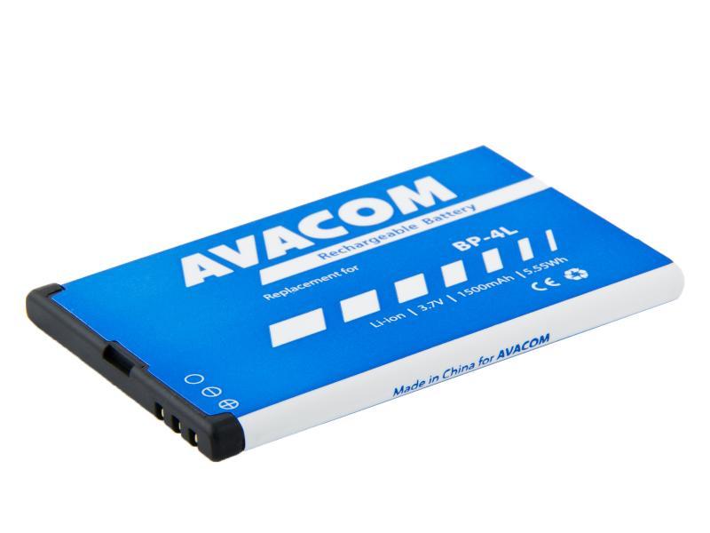 AVACOM baterie do mobilu Nokia E55, E52, E90, Li-Ion 3,7V 1500mAh (náhrada BP-4L) (GSNO-BP4L-S1500Aa)
