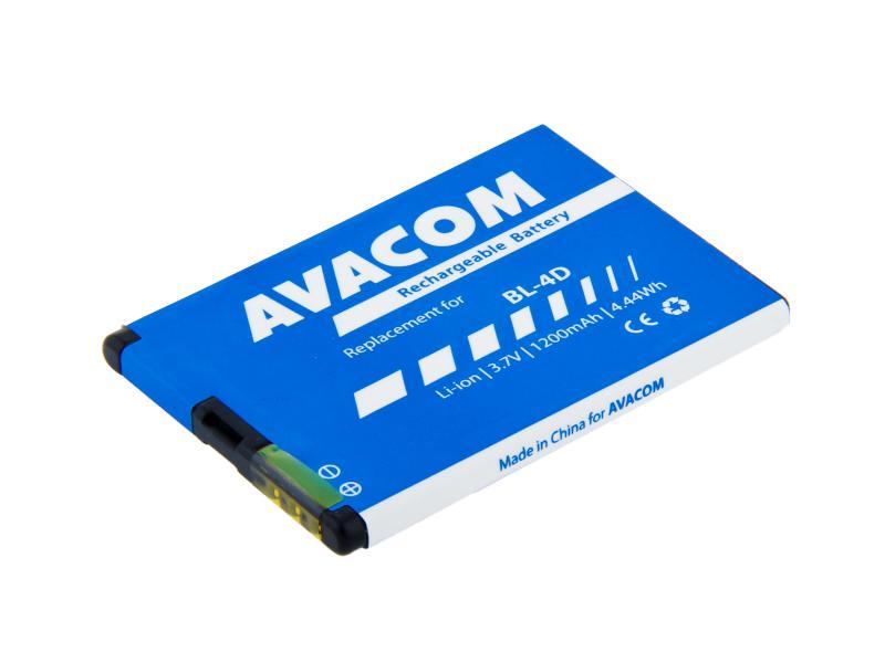 AVACOM baterie do mobilu Nokia E7, N8 Li-Ion 3,7V 1200mAh (náhrada BL-4D) (GSNO-BL4D-S1200A)