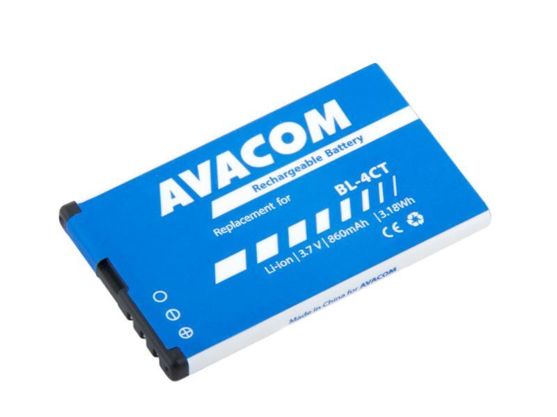 AVACOM baterie do mobilu Nokia 5310 XpressMusic Li-Ion 3,7V 860mAh (náhrada BL-4CT) (GSNO-BL4CT-S860)