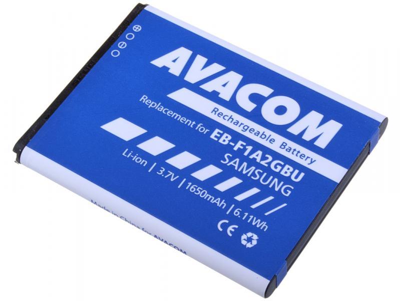 AVACOM baterie do mobilu Samsung i9100 Li-Ion 3,7V 1650mAh (náhrada EB-F1A2GBU) (GSSA-I9100-S1650A)