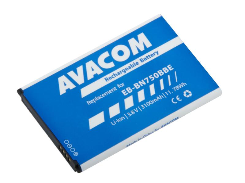 AVACOM baterie do mobilu Samsung Note 3 Neo Li-Ion 3,8V 3100mAh, (náhrada EB-BN750BBE) (GSSA-N7505-S3100)
