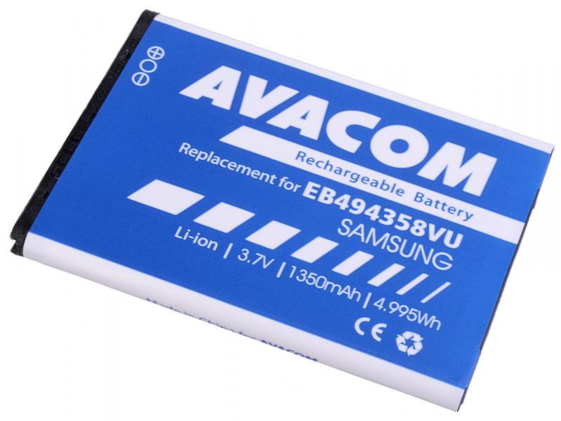 AVACOM baterie do mobilu Samsung S5830 Galaxy Ace Li-Ion 3,7V 1350mAh (náhrada EB494358VU) (GSSA-58