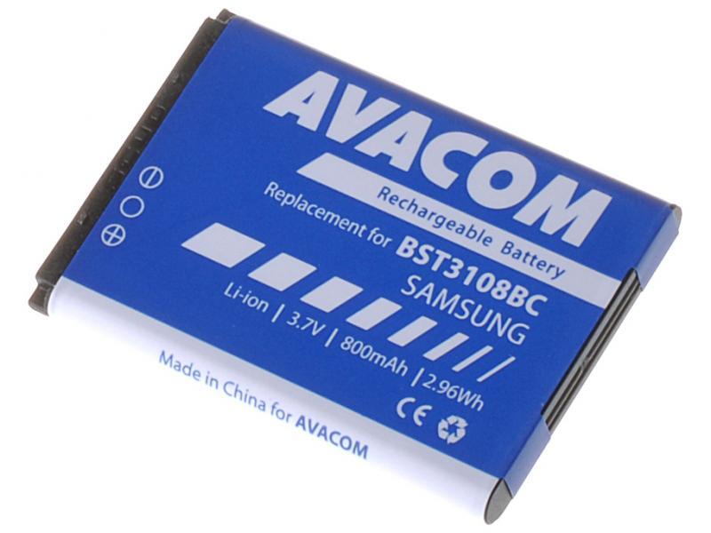 AVACOM baterie do mobilu Samsung X200, E250 Li-Ion 3,7V 800mAh (náhrada AB463446BU) (GSSA-E900-S800A)