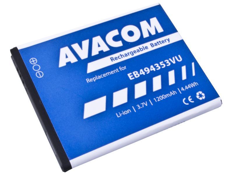 AVACOM baterie do mobilu Samsung 5570 Galaxy mini Li-Ion 3,7V 1200mAh (náhrada EB494353VU) (GSSA-5570-S1200A)
