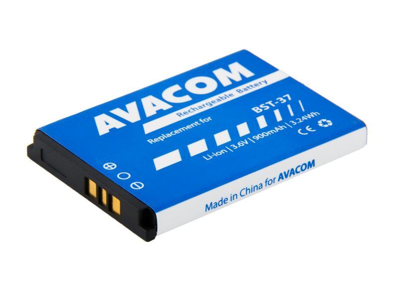 AVACOM baterie do mobilu Sony Ericsson K750, W800 Li-Ion 3,7V 900mAh, (náhrada BST-37) (GSSE-K750-900)