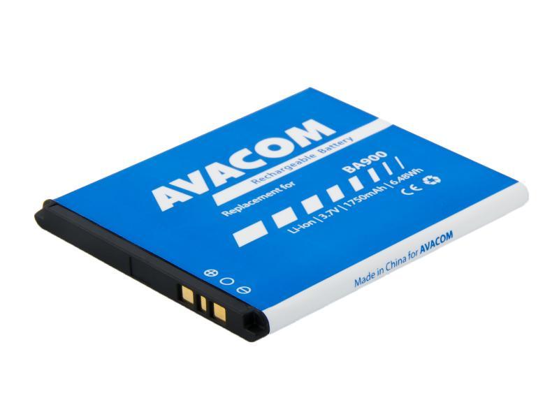 AVACOM baterie do mobilu Sony Xperia L Li-Ion 3,7V 1750mAh, (náhrada BA900) (GSSE-BA900-1750)